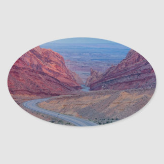 Utah Oval Sticker