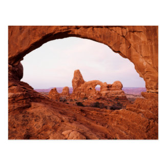 Utah, parque nacional de los arcos, arco 1 de la postal