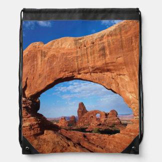 Utah, parque nacional de los arcos, arco 2 de la mochilas