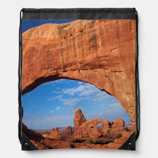 Utah, parque nacional de los arcos, arco 3 de la mochila