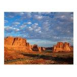 Utah, parque nacional de los arcos, formaciones de postales