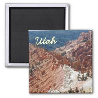 utah photo1, Utah 2 Inch Square Magnet