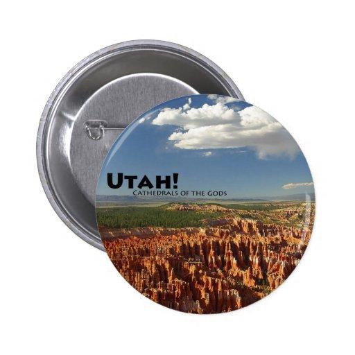 Utah Pin Redondo De 2 Pulgadas