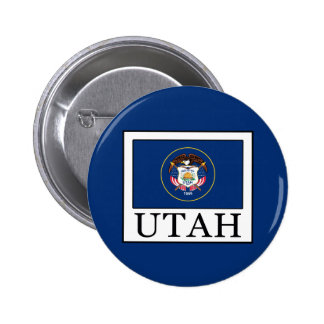 Utah Pinback Button