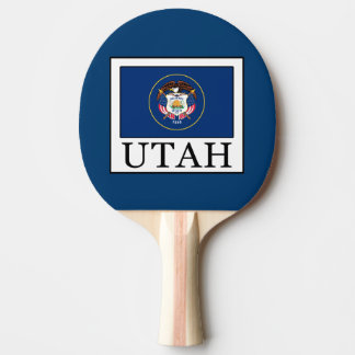 Utah Ping Pong Paddle