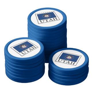 Utah Poker Chip Set