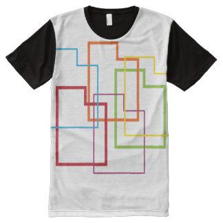 utah pride blur All-Over print shirt