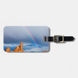 Utah Rainbow Tag For Luggage