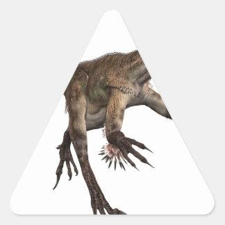 Utah Raptor Triangle Sticker