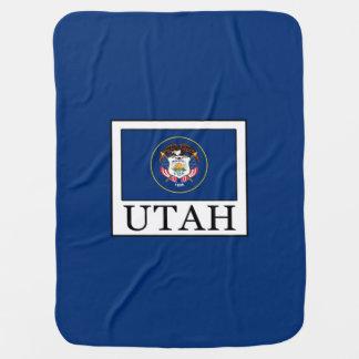 Utah Receiving Blanket
