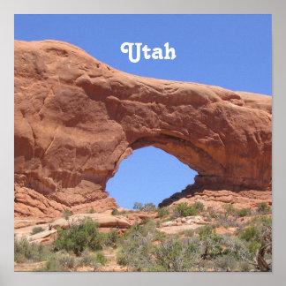 Utah Red Rock Poster
