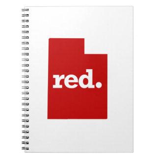 UTAH RED STATE NOTEBOOK