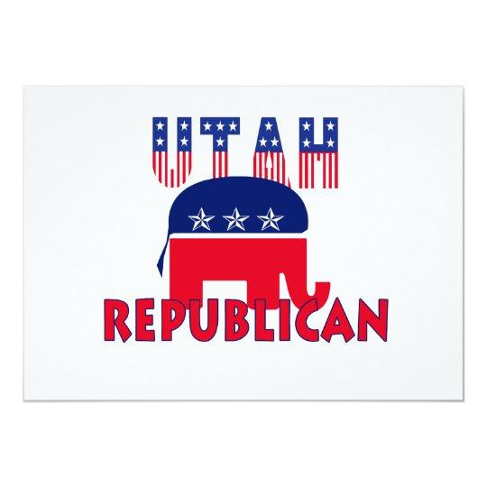 Utah Republican Card