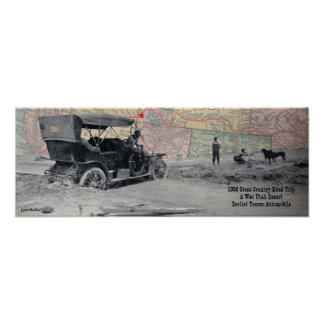 Utah Road Trip 1908 Print