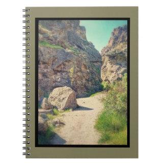 Utah Rocks Series #1-Between the Rocks Notebook