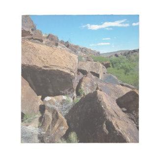 Utah Rocks Series #2: Boulders Notepad