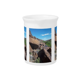 Utah Rocks Series #2: Boulders Pitcher