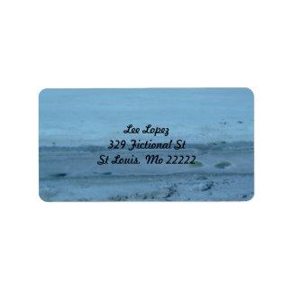 Utah Salt Flats B Custom Address Labels