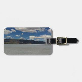 Utah Salt Flats Landscape Luggage Tag