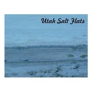 Utah Salt Flats Postcard