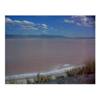 Utah Salt Flats Souvenir Postcard
