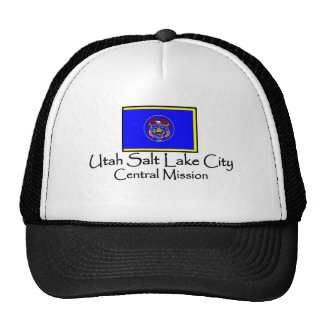Utah Salt Lake City Central LDS Mission T-Shirt Hats