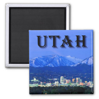 Utah Salt Lake City Fridge Magnet