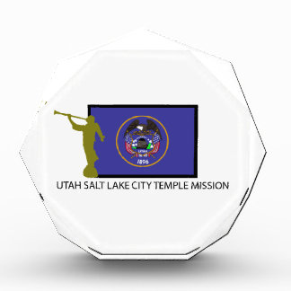 UTAH SALT LAKE CITY TEMPLE MISSION LDS CTR AWARD