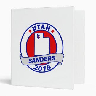 utah Sanders 2016.png 3 Ring Binders