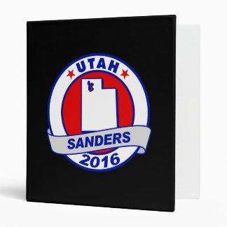 utah Sanders 2016.png Vinyl Binder