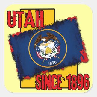 Utah, Since 1896 Square Sticker