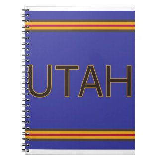 Utah Spiral Notebook (80 Pages B&W)