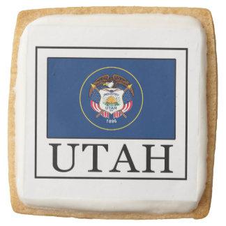 Utah Square Shortbread Cookie