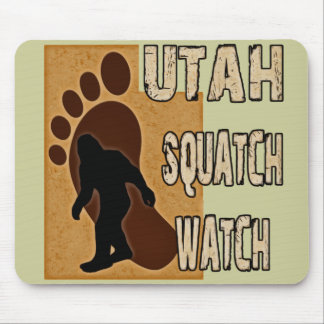 Utah Squatch Watch Mouse Pad