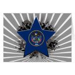 Utah Star Greeting Card