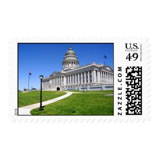 Utah State Capitol Building - Salt Lake City Postage Stamps