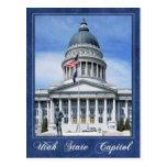 Utah State Capitol building, Salt Lake City Postcard