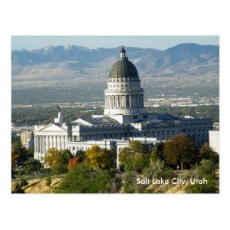 Utah State Capitol Postcard
