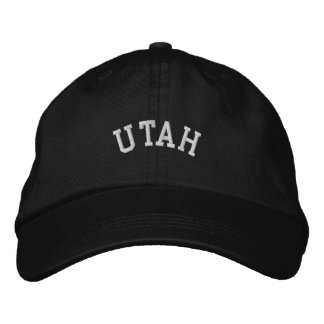 Utah State Embroidered Embroidered Baseball Cap