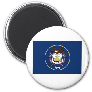 Utah State Flag 2 Inch Round Magnet