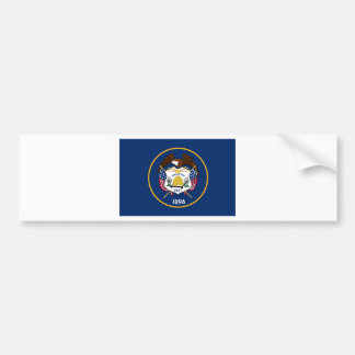 Utah State Flag Bumper Sticker