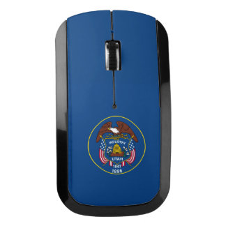 Utah State Flag Design to go Wireless Mouse