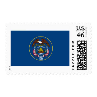 Utah State Flag Stamps
