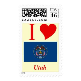 Utah State Flag Postage Stamps