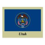 Utah State Flag Postcard