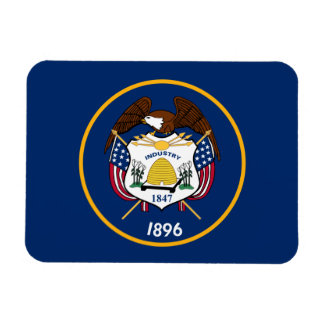 Utah State Flag Rectangular Photo Magnet