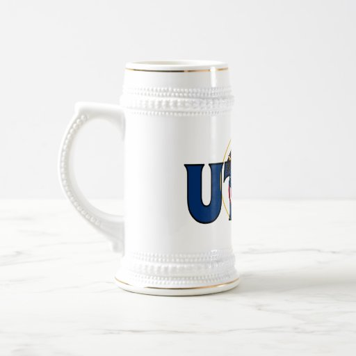 Utah Stein Jarra De Cerveza