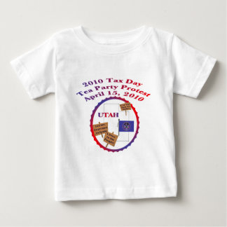 Utah Tax Day Tea Party Protest Baby T-Shirt