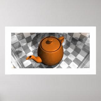 Utah Teapot Poster
