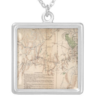Utah Terr & Mil Dept Custom Necklace